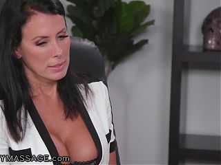 Reagan Foxx Accepts To Try Penny Paxs Massage Offer