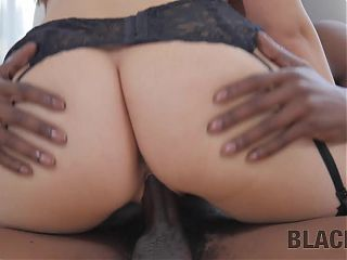 BLACK4K. Girl from Italy has pussy filled with the penis