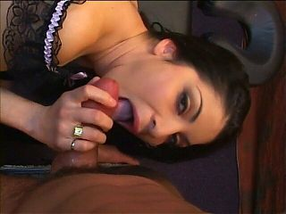 Latin chick in red dress with big juggs dates man