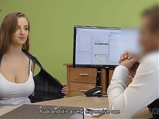 LOAN4K. Sex casting helps hottie get credit to fix spouses